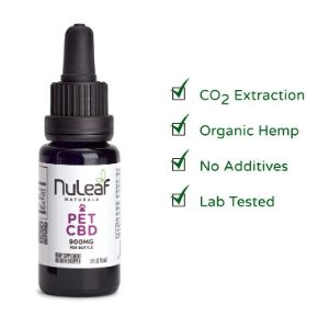 NuLeaf Naturals Full Spectrum Hemp CBD Pet Oil