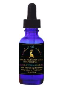 Rocky Mountain Girls Hemp Broad Spectrum Dog/Pet CBD Oil