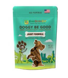 Green Garden Gold Doggy Be Good CBD Soft Chew Treats: Joint Formula