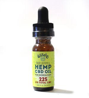Wisely High Potency Hemp CBD Oil