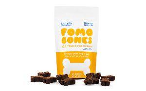 FOMO Bones Calming CBD Soft Chews For Small Dogs