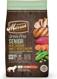 Merrick Senior Grain Free with Real Meat