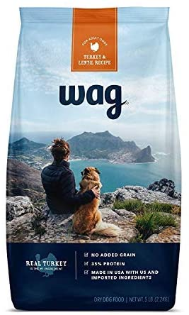Wag Dry Dog Food in Turkey Flavor