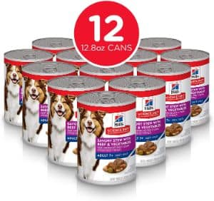 Hill's Science Diet Senior Wet Dog Food